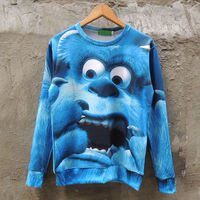 Monsters Inc Sulley Sweatshirt Sweater from Sexier Sweaters