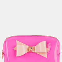 Ted Baker London 'Small Bow' Cosmetics Case   Nordstrom