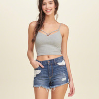 Must-Have Slim Cropped Cami