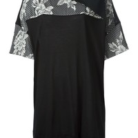 Isola Marras panelled T-shirt dress
