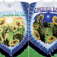 Sunflower Terrapin Grateful Dead Tie-Dye T-Shirt