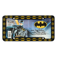 DC Comics Batman Logos License Plate Frame