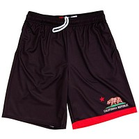 California Republic Flag Lacrosse Shorts