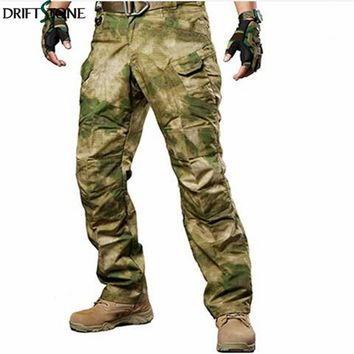 Multicam Airsoft Military Camouflage IX7 Pants tactical cargo pants army combat pants camouflage fatigues