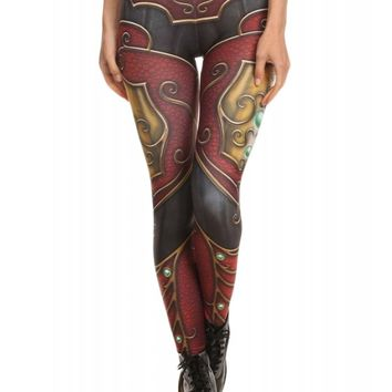 Poprageous Women's Elf Armor Leggings