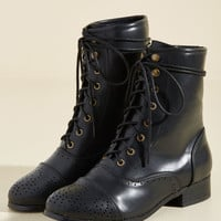Flaunt Your Footwork Boot