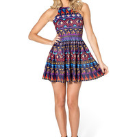 A Whole New World Reversible Skater Dress
