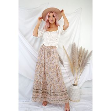 What Makes You Happy Maxi Skirt