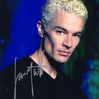 James Masters as Spike in Buffy the Vampire Slayer Signed Autographed 8 X 10 RP Photo - Mint Condition