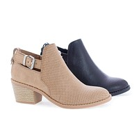 InspireIIS By Soda, Children Girls Mid Heel Perforated Ankle Boots