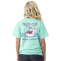 "Youth Simply Southern ""Beach Float"" Short Sleeve Tee"