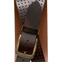 Banana Republic Factory Perforated Leather Belt