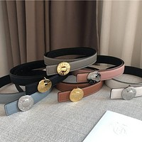 HERMES High Quality Women Fashion Smooth Buckle Belt Leather Belt
