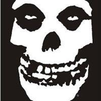 The Misfits (Skull, No Text) Music Poster Print