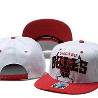 Chicago Bulls Nba Cap Snapback Hat - -6