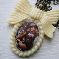 Hot Patootie Cutie Columbia Rocky Horror Picture Show Cameo Necklace