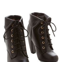ModCloth Urban Back in the Sing of Things Bootie