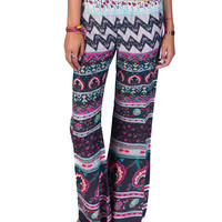 Beauty Bells Pants Off Black Multi