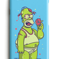 Zombie Homer Simpson iPhone Case