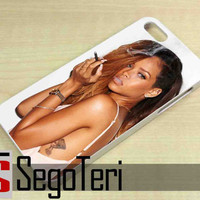 Rihanna Smoking - iPhone 4/4S, iPhone 5/5S, iPhone 5C and Samsung Galaxy S3, S4