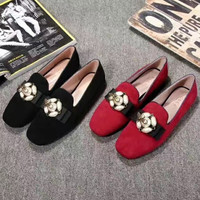 GUCCI shoes shoes with suede ballet flats
