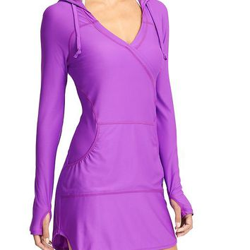 Athleta Womens Wick-It Wader Coverup