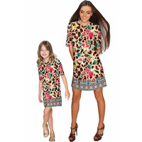 Wild & Free Grace Shift Floral Mother and Daughter Dresses