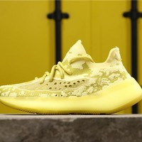 Adidas Yeezy Boost 350 V3 Sound Yellow Running Shoes - Best Online Sale