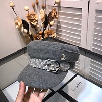 Dior Newest Popular Women Men Sports Uv Protection Sun Hat Visor Hat Cap