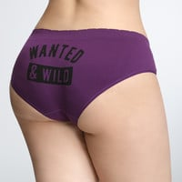 Wild and Wanted Seamless Hipster Panty