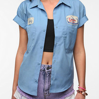 Urban Outfitters - Urban Renewal Resized Gas Station Shirt