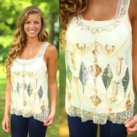 Sparkle Becomes Her Top