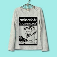 30% OFF for 2013 CODE:77585211 --adidas star wars stormtrooper T-shirt Long sleeved