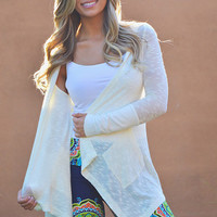 Summer Knockout Hoodie - Ivory