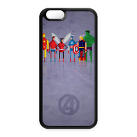 8Bit - Marvel Avengers Silicon Case for Apple iPhone 6 by DevilleArt