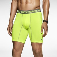 Nike Pro Combat Core 2.0 Compression Men's Shorts - Volt