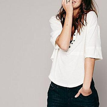 We The Free Womens We The Free Rys Henley - Ivory XS