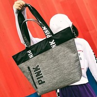 VS PINK  new hot style short-haul package includes foldable handbags with large capacity
