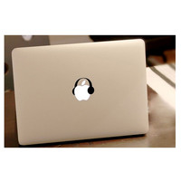 Laptop Accessories listen music Decal laptop Skin for macbook Pro Air Mac book Retina 13 laptop sticker