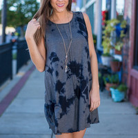 For Your Love Dress, Navy