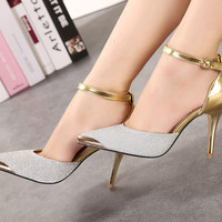 Glitter High Heels Shoes