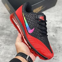 Nike Air Max new Nike full palm air cushion sports running shoes