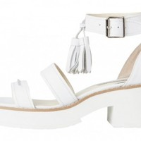 Windsor Smith - Chunk White Leather - Womens