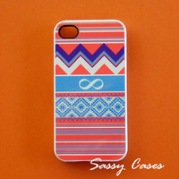iPhone 4 / 4S Sassy Cases Western Style Infinity