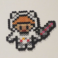 League of Legends Inspired Astronaut Teemo Bead Sprite Magnet, Ornament, or Wall Decor