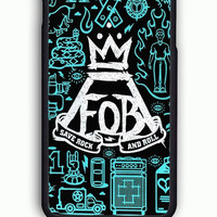 iPhone 6 Case - Rubber (TPU) Cover with Fall Out Boy Quotes  Rubber Case Design