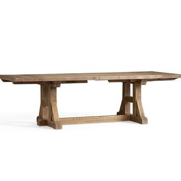 Stafford Reclaimed Pine Extending Dining Table