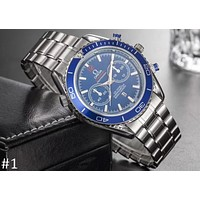 OMEGA SEAMASTER series men's hollow automatic mechanical watch F-YY-ZT #1