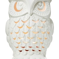 Ceramic Owl Luminary 14.5 oz 3-Wick Candle Luminary   - Slatkin & Co. - Bath & Body Works