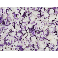 Vanilla Crumble Crushed Hard Candy - Purple and White: 2LB Bag